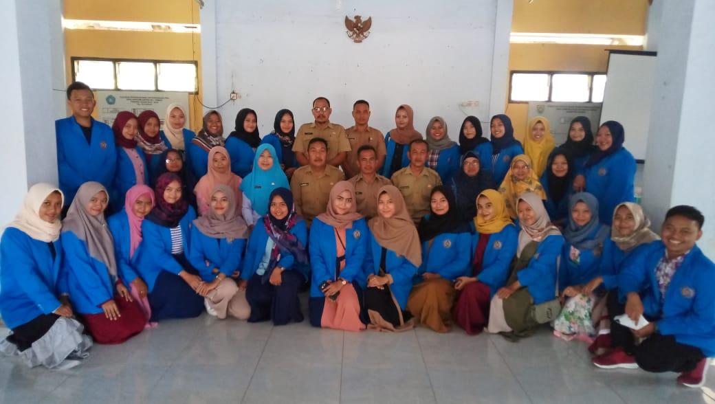 Kunjungan Mahasiswa STIKES Muhammadiyah Kendal di Kantor Desa Gemuhblanten